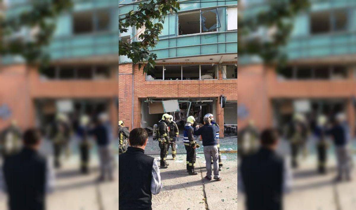 Al menos tres personas murieron tras la explosión