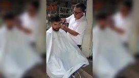 El peluquero cortó por lo sano y ahorró energía