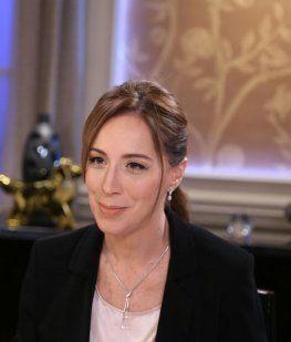 María Eugenia Vidal - Crédito:@mirthalegrand