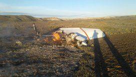 La avioneta caída en Península Valdés.