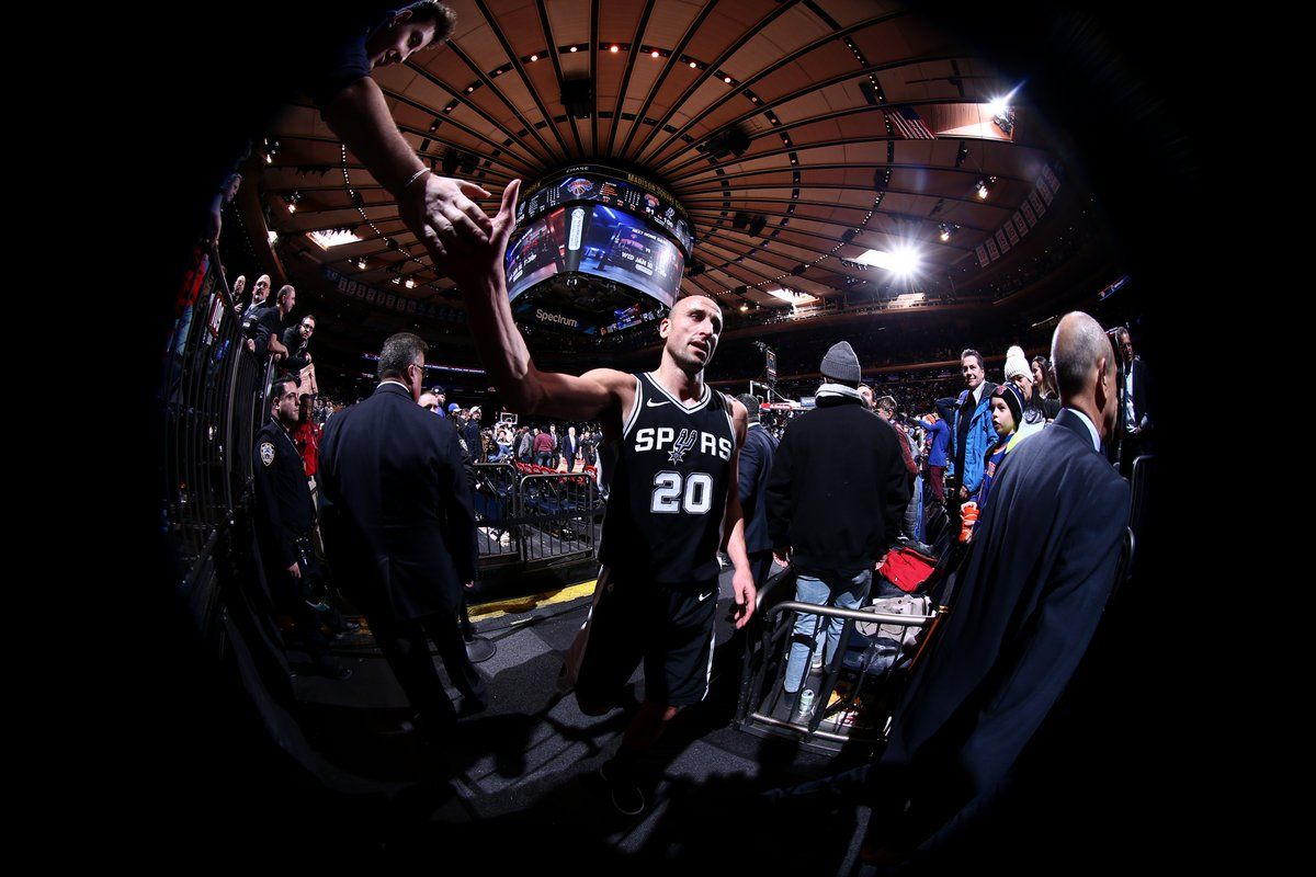 Manu Ginobili en San Antonio Spurs - Crédito:@manuginobili