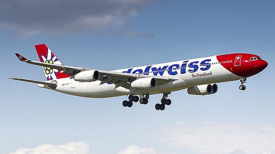 Low cost: autorizan a la aerolínea suiza Edelweiss a volar la ruta Buenos Aires-Zurich