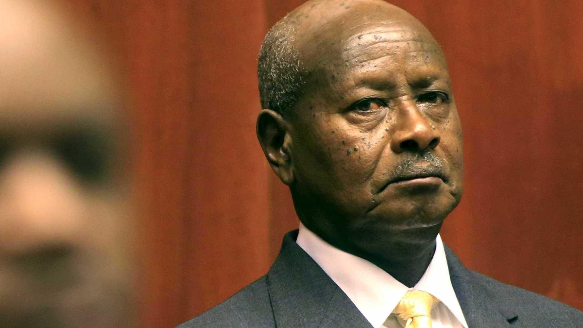 El presidente de Uganda