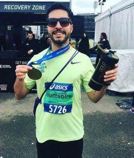 Un finalista de MasterChef murió en una maratón - Crédito: Instagrammattsoire