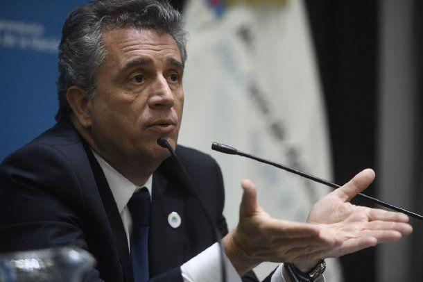 Luis Miguel Etchevehere, ministro de Agroindustria<br>