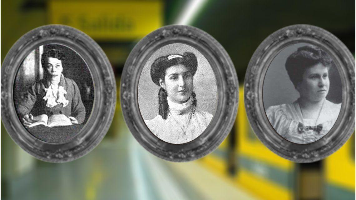 La estación Facultad de Derecho honrará a la médica y política Julieta Lanteri