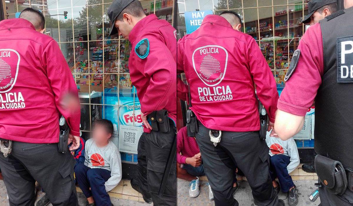 Así fue detenido el menor por agarrar una SUBE