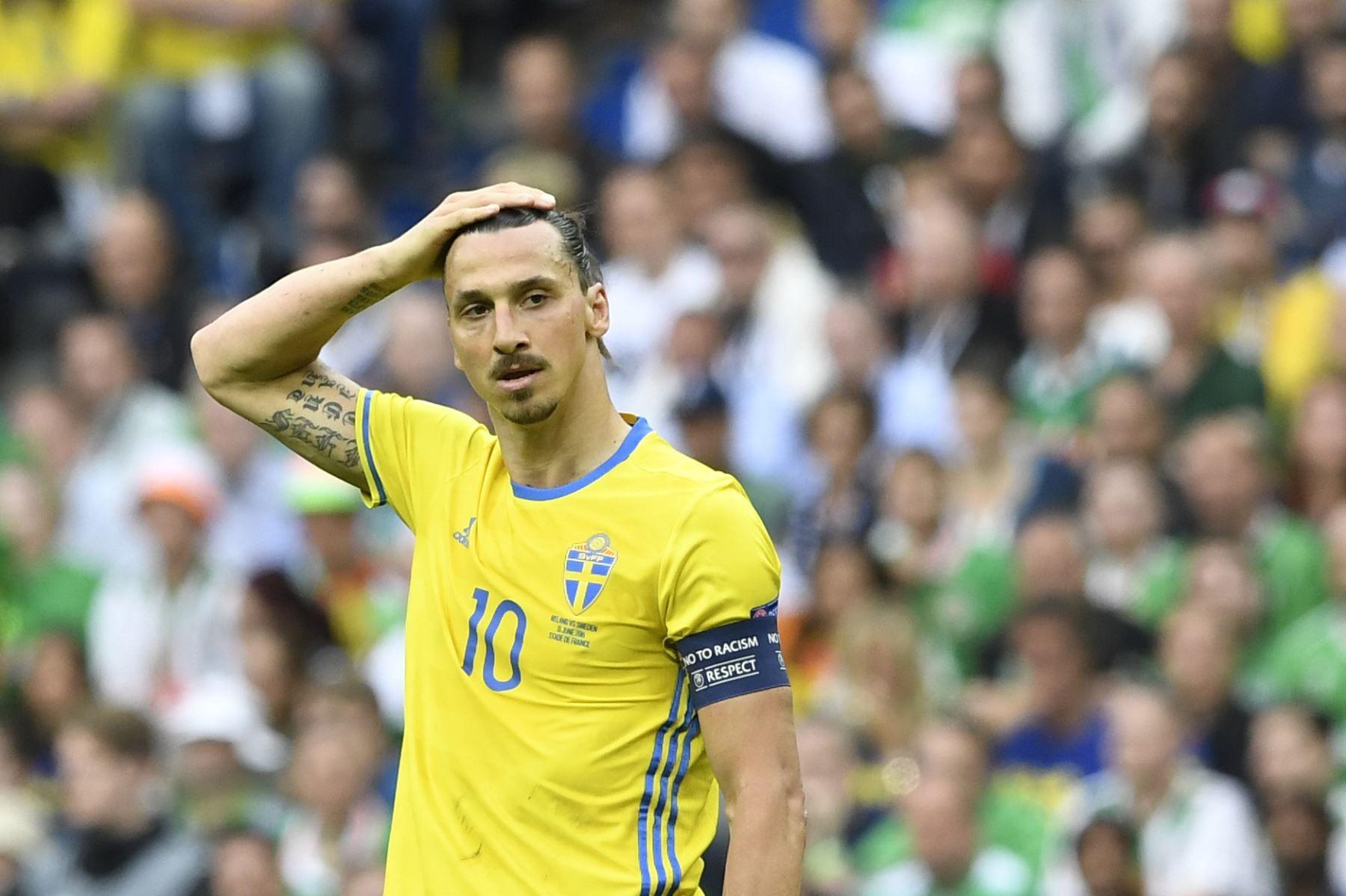 Zlatan Ibrahimovic se quedará fuera del Mundial de Rusia