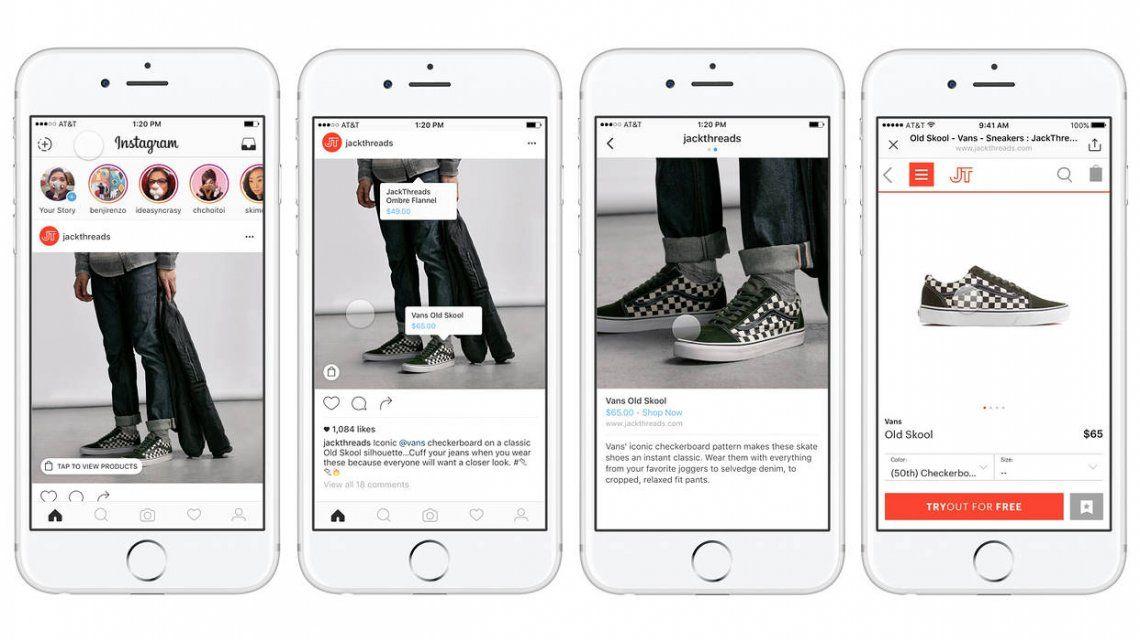 Ya se pueden hacer compras a través de Instagram