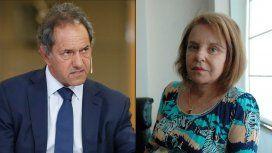 Daniel Scioli y Chiche Duhalde se mostraron a favor del aborto legal