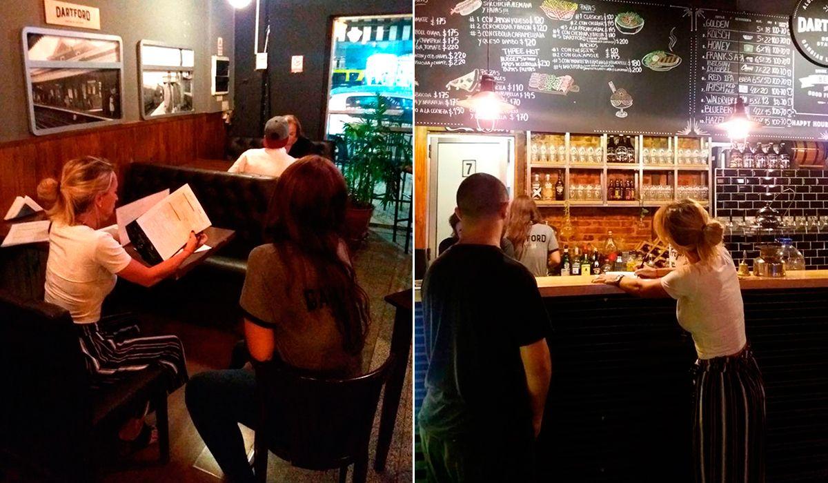 AFIP: irregularidades en la contratación de empleados de cervecerías de Palermo y Colegiales
