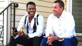 Chris Rock Adam Sandler protagonizan The Week of
