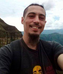 Este es Roberto Alejandro, hacía algunos años se había ido a Ecuador a buscar trabajo.