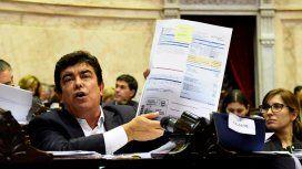 Fernando Espinoza habló en la sesión especial sobre el tarifazo