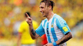 Lucas Biglia en la Selección argentina - Crédito: @Argentina