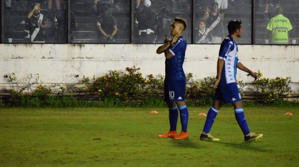 Lautaro Martínez celebra su gol