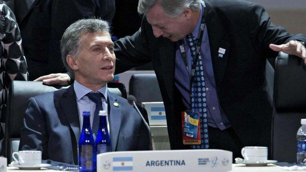 Mauricio Macri y Juan José Aranguren