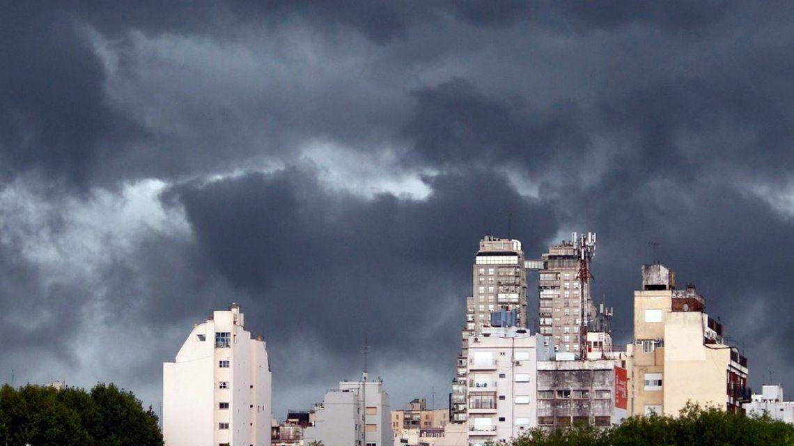 Alerta meteorológico en Ciudad por posible caída de granizo
