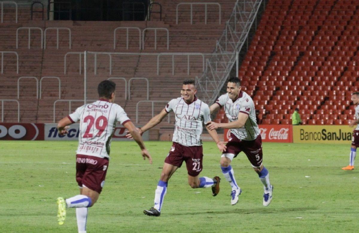 Gol de Ramis para Godoy Cruz - Crédito:@ClubGodoyCruz