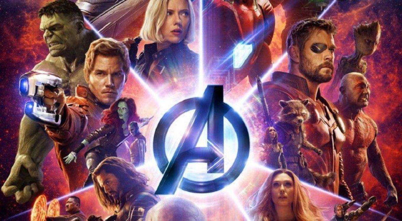 El homenaje de la verdulería de un supermercado a los Avengers