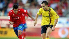 El club Numancia de Soria hizo público mucho más que su apreciación por Iniesta