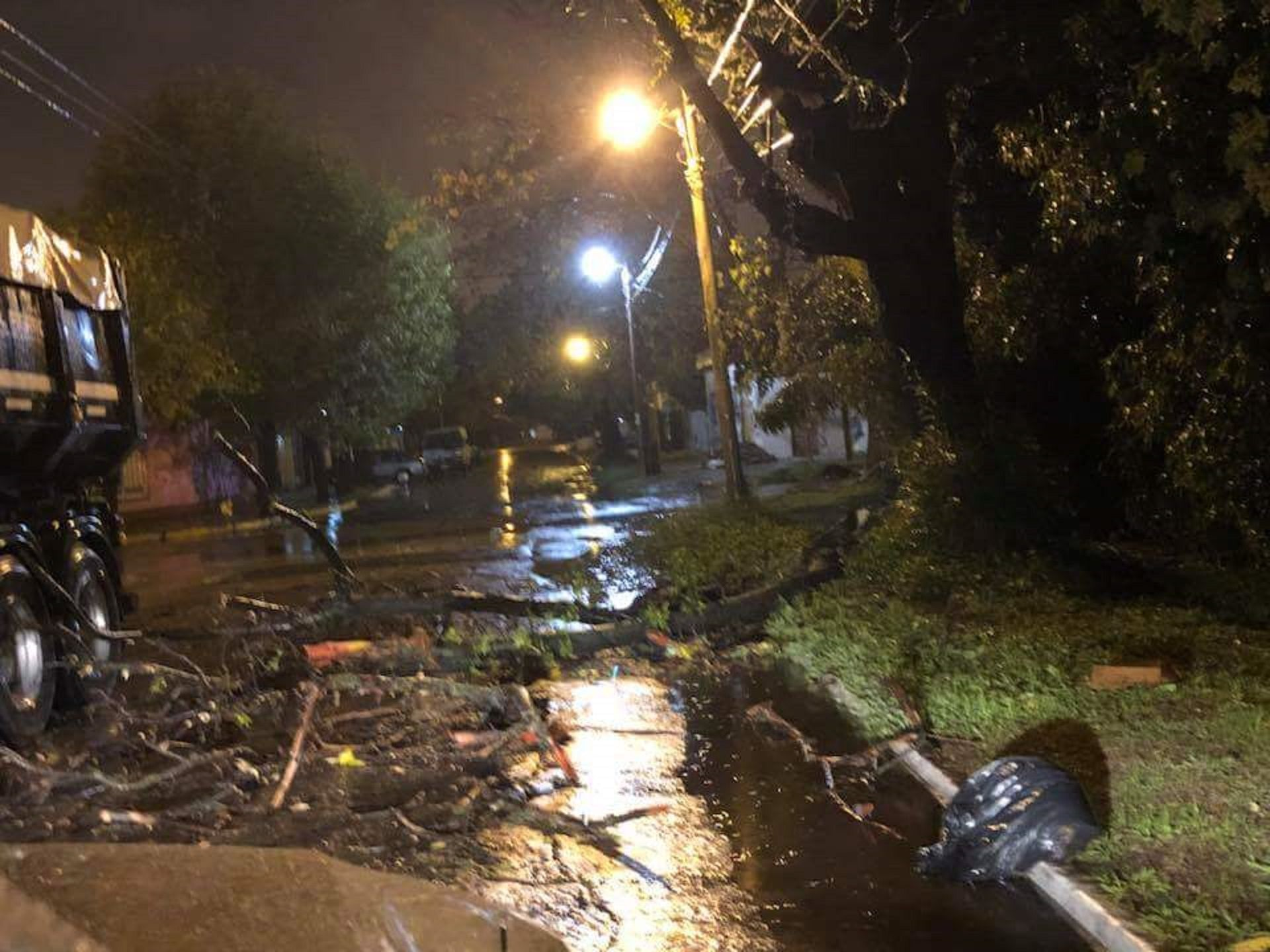 Decretaron la emergencia en Merlo por la tormenta
