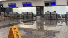 Fuerte tormenta en la Ciudad: así se inundó Aeroparque