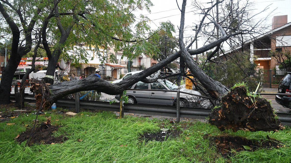 Dos muertos, 400 evacuados y destrozos: lo que dejó el temporal en su paso por la Provincia