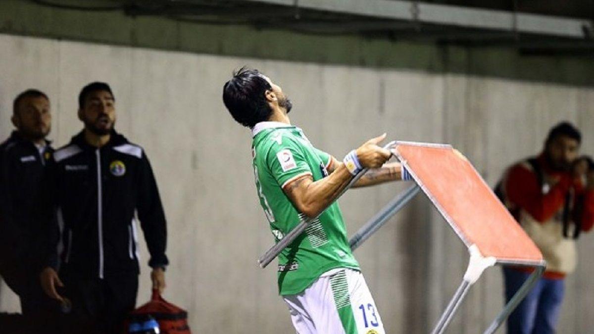 Abreu agredió a hinchas deAudax - Crédito:Xpressmedia