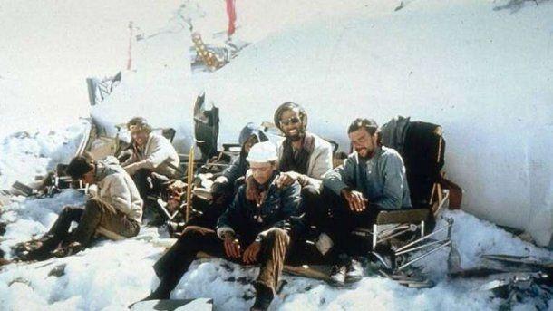 Algunos sobrevivientes de la tragedia de Los Andes