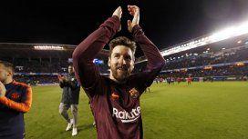 Lionel Messi en Barcelona - Crédito:@FCBarcelona_es
