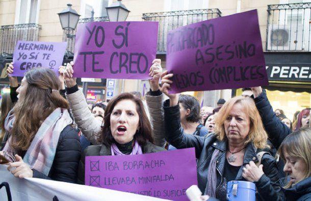 Miles se movilizaron en España tras el fallo del caso de