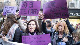 {alttext(Miles se movilizaron en España tras el fallo del caso de