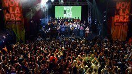 #VoyPorLaPaz cerró con un llamado para acabar con la desigualdad