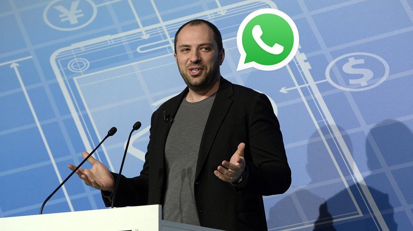 Uno de los fundadores de WhatsApp dejó la compañía