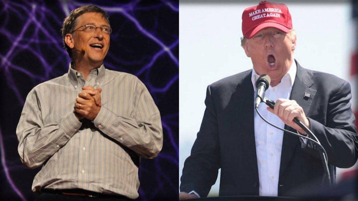Bill Gates mató a Donald Trump