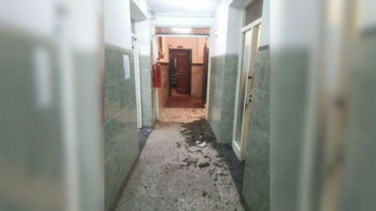 Así quedó la comisaría de San Justo donde fue baleada la sargento Rocío Villarreal