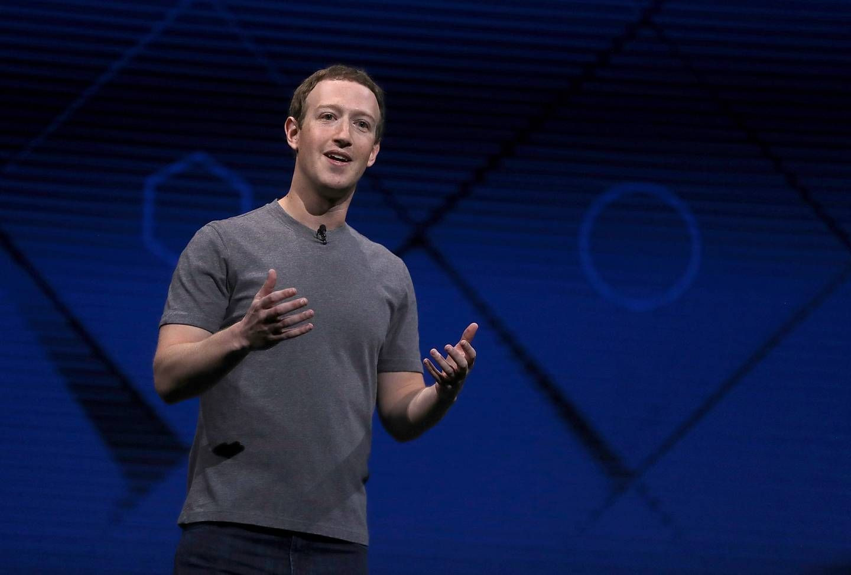 El CEO de Facebook durante la conferencia de desarrolladores