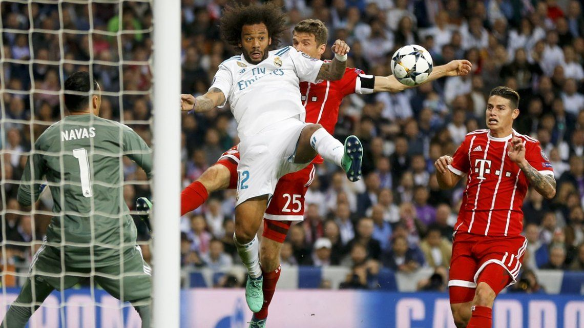 Real Madrid eliminó al Bayern Munich y pasó a la final de la Champions League