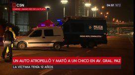 Personal de Policía de la Ciudad realizaba las pericias de rigor