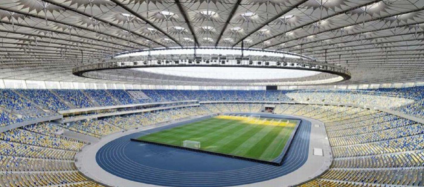El Olímpico de Kiev tiene capacidad para 70 mil espectadores