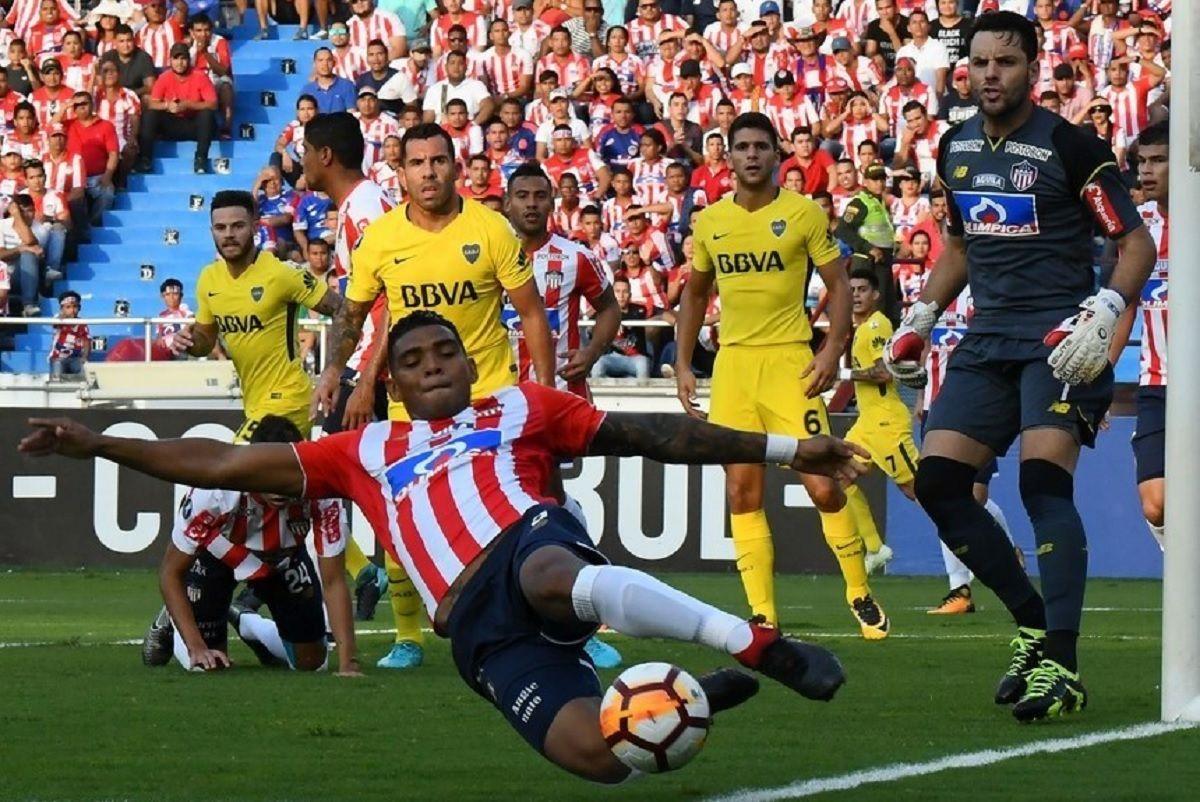Boca igualó con Junior y mantiene la esperanza de seguir en la Copa Libertadores