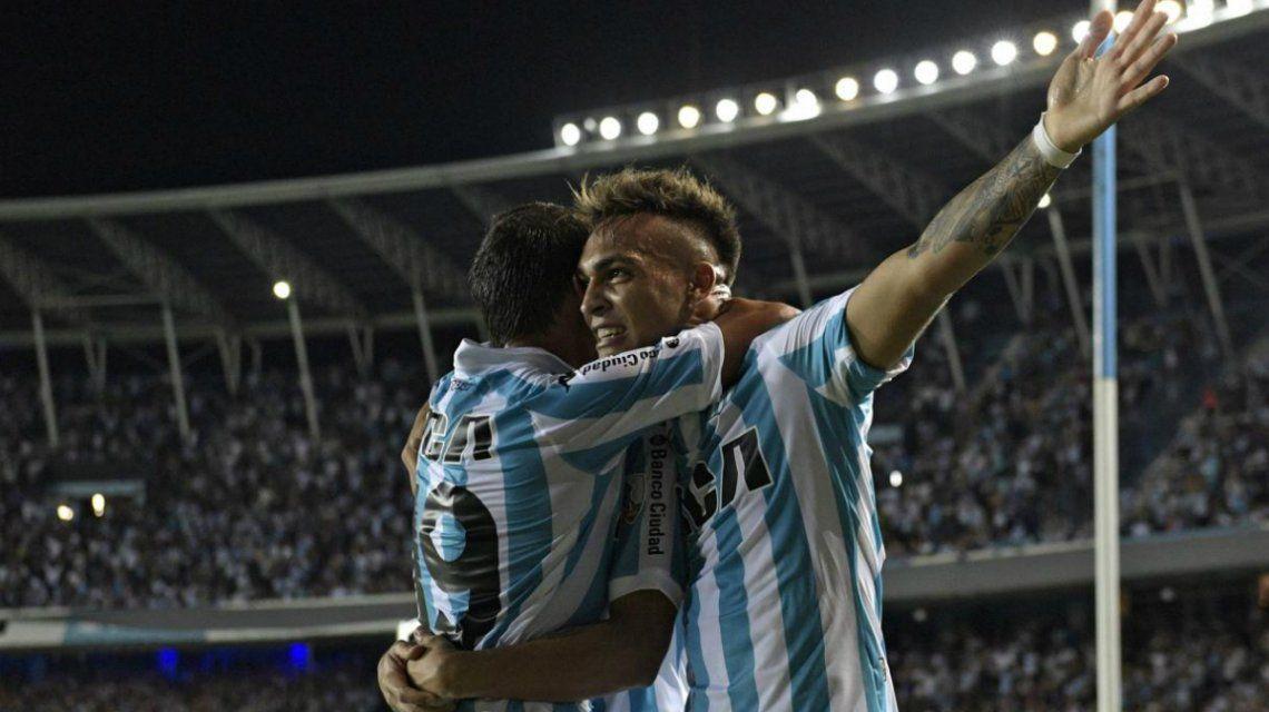 Racing le ganó a U de Chile y clasificó a octavos de la Libertadores
