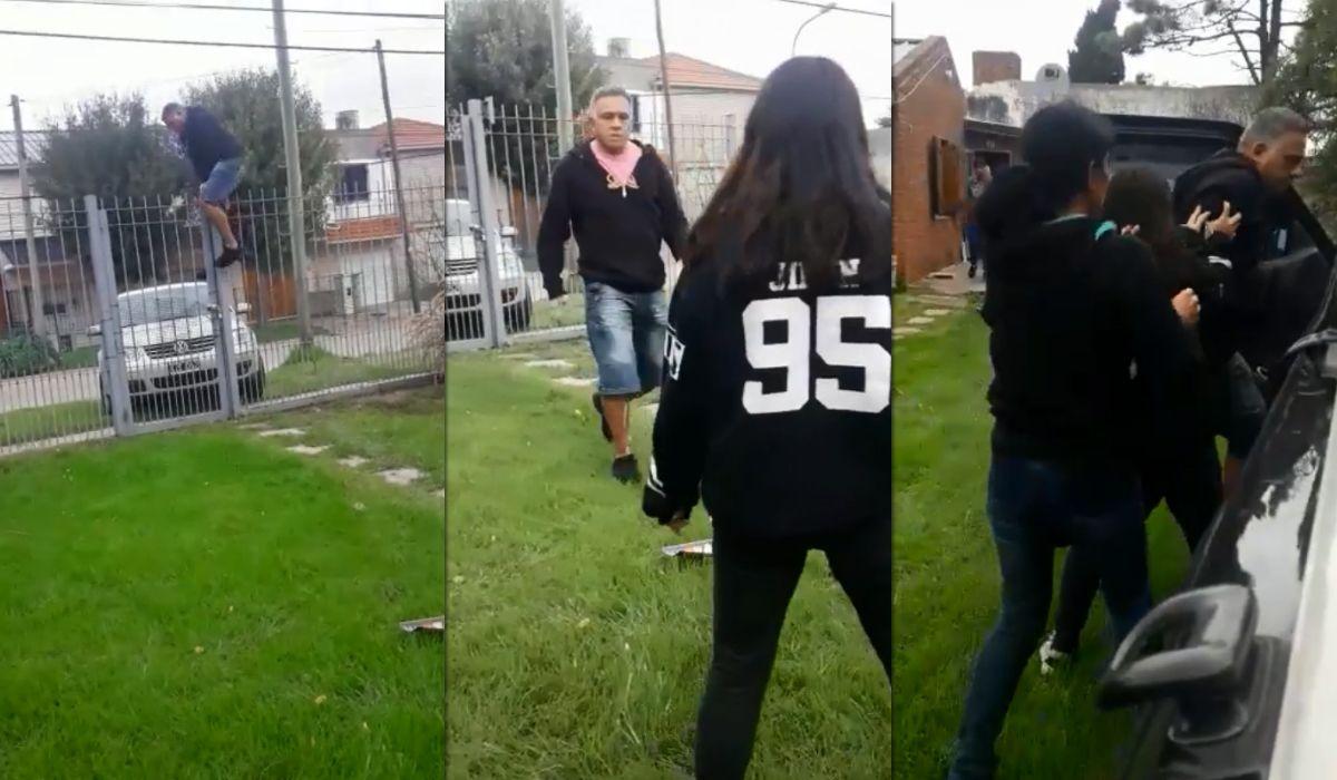 Mar del Plata: grabó cómo su ex pareja entró a su casa y amenazó con prenderla fuego