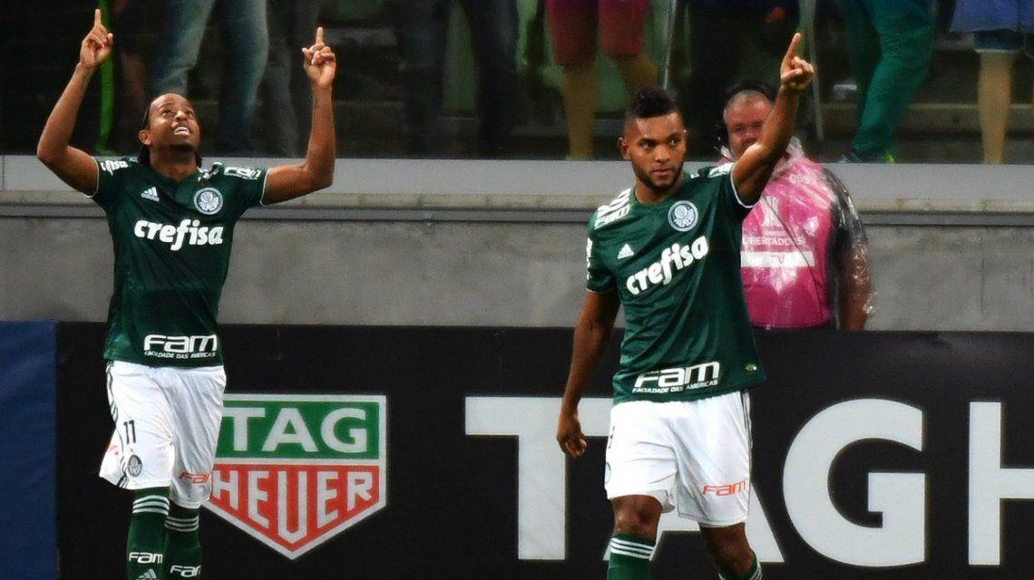 Palmeiras se aseguró el primer puesto de su grupo