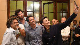 César Francis, José Acasuso, Agustín Calleri y Guillermo Coria