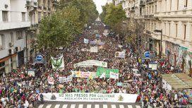 Marcha por la legalización de la marihuana - Crédito:lamarihuana.com