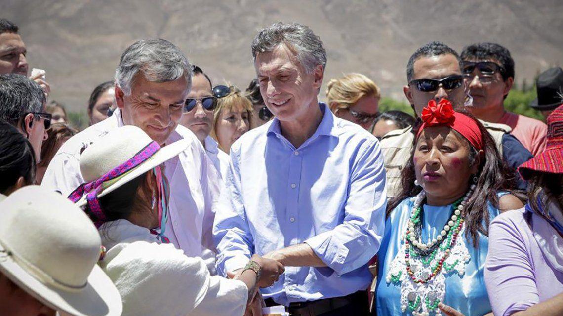 Macri en Humahuaca.