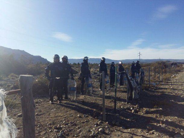 Pu Lof mapuche de Resistencia Cushamen<strong> </strong>. Foto: antiagomaldonado.com
