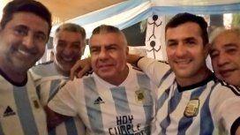 Daniel Angelici y Claudio Tapia